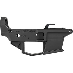 Angstadt Arms 1045 Pistol Caliber AR-15 Lower Receiver .45 ACP/10mm Auto Billet Aluminum Accepts GLOCK Style Magazines Black Finish