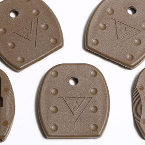 Vickers Tactical GLOCK Magazine Floor Plates for 9mm, 40S&W, 357SIG and 45GAP VTMFP-001-BRN