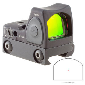 Trijicon RMR Type 2 Adjustable LED Sight 1 MOA Red Dot with RM33 Picatinny Rail Mount