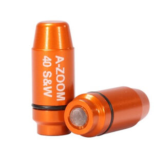 A-Zoom Striker Caps .40 S&W Aluminum 2 Pack