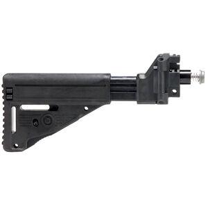 Brugger & Thomet Side Folding/Retractable Stock Fits B&T APC 9mm/.45 Models Polymer Matte Black