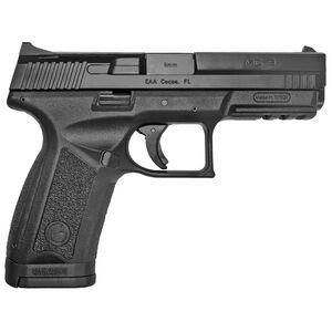 "EAA Girsan MC9 Standard 9mm Luger Semi Auto Pistol 4.2"" Barrel 17 Rounds Interchangeable Back Straps Polymer Frame Matte Black Finish"