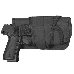 Fox Outdoor Typhoon Horizontal Mount Modular Holster Large Autos Right Hand Nylon Black 58-881