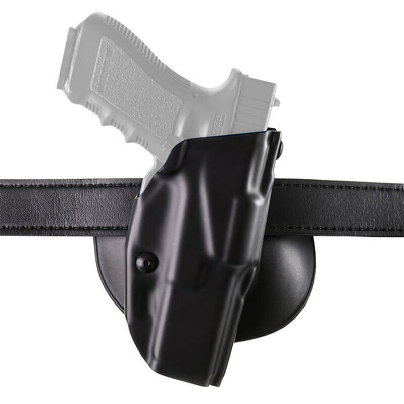 Safariland Model 6378 ALS Paddle/Belt Holster Right Hand Fits 1911 Government with Rail Hardshell STX Tactical Black