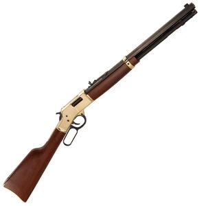 "Henry Big Boy Lever Action Rifle .327 Federal 20"" Octagon Barrel 10 Rounds Polished Hardened Brass Receiver American Walnut Stock Blued Barrel"