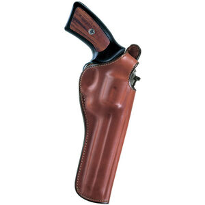 """Bianchi #111 Cyclone 6"""" K-Frame Revolvers Belt Holster Right Hand Size 5 Leather Tan 12680"""