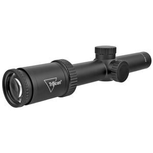Trijicon Huron 1-4x24mm SFP Hunting Rifle Scope with BDC Hunter Holds Reticle 30mm Tube 1/4 MOA Adjustment Black HR424-C-2700001