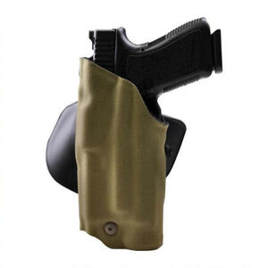 Safariland 6378 ALS Paddle Holster Left Hand Fits GLOCK 19/23 with Light STX Tactical Finish Coyote Brown