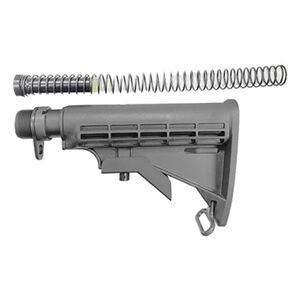 KE Arms AR-15 Complete Buttstock Assembly Matte Black