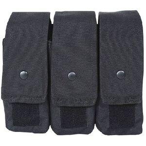 Voodoo Tactical AK47/AK74/M4/AR-15 Triple Magazine Pouch MOLLE Compatible Nylon Black 20-8175001000