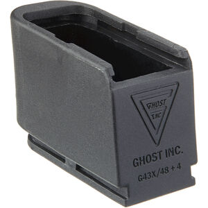 Ghost Plus 4 Rounds Magazine Extension Device for GLOCK 43X/48 9mm