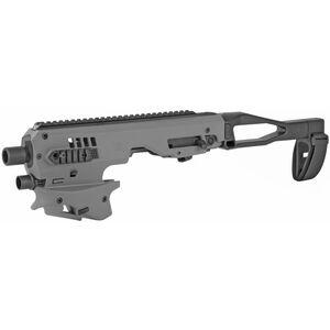 CAA MCK Micro Roni Gen 2 Conversion Kit Fits GLOCK 26/27 Chassis Pistol Brace Polymer Tungsten MCK26/27GEN2TU