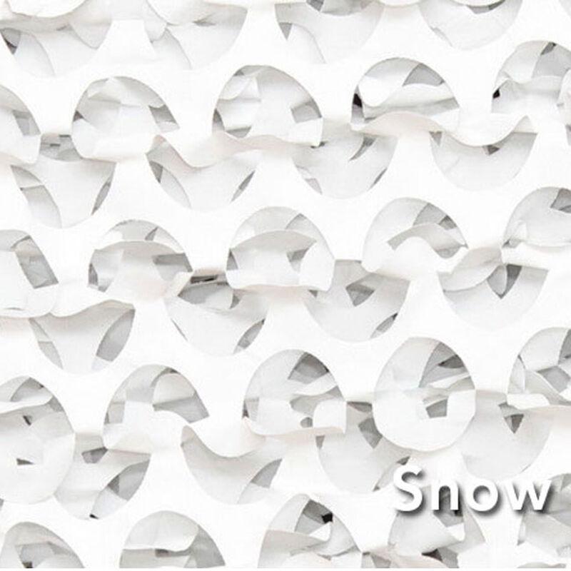 "Camo Unlimited Premium Series Ultra Lite 7'10""x85 Yards 3D Leaf Like Foliage Snow"