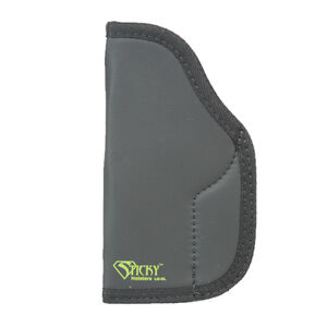 Sticky Holster LG-6 Long Large IWB Holster Ambidextrous Large Frame Semi Auto Pistols Sticky Skin Material Matte Black Finish
