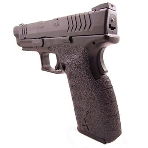 TALON Grips Adhesive Grip Springfield XD(M) Full Size 9/40 Rubber Black 205R