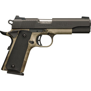 """Browning 1911-380 Black Label Pro Speed Full Size .380 ACP Semi Auto Pistol 4.25"""" Barrel 8 Rounds 3-Dot Sights Stainless Steel Slide Polymer Frame A-TACS AU Camo/Black Finish"""