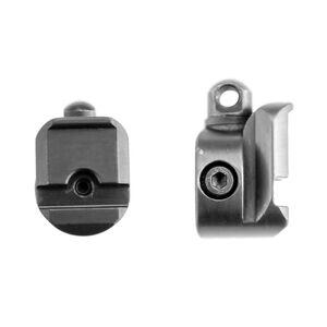 Swagger Bipods Stalker QD Standard Swivel Stud Adapter Aluminum Black SWAG-AD-QDSS