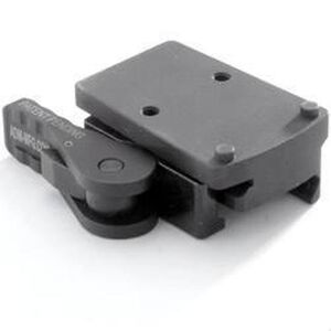 American Defense Manufacturing Trijicon RMR MRD Mount with Right Hand QD Lever 6061 T6 Aluminum Black AD-RMR-RH-STD