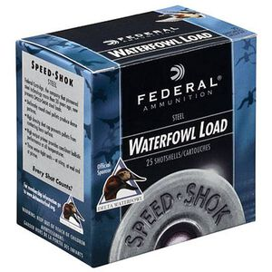 "Federal Speed-Shok 12 Ga 3"" BBB Steel 1.125oz 250 rds"