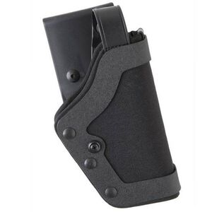 Uncle Mike's PRO-3 GLOCK 20, 21, 29, 30, 36 Duty Holster Right Hand Size 25 Kodra Nylon Black 35251
