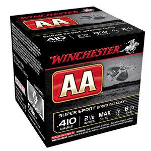 "Winchester AA Super Sport .410 2-1/2"" #8.5 1/2 oz 25 Rnd Box"