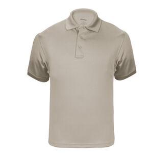Elbeco UFX Tactical Polo Men's Short Sleeve Polo Small 100% Polyester Swiss Pique Knit Tan