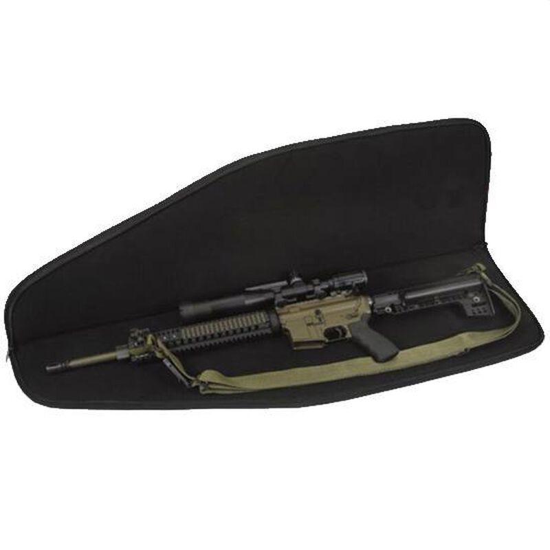 "US PeaceKeeper Assault Soft Rifle Case 35""x11""x2.75"" 600 Denier Nylon Black P20035"