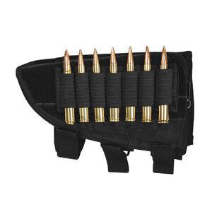 Fox Outdoor Rifle Butt Stock Cheek Rest Left Hand Black 55-471