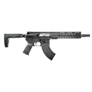 "Diamondback Firearms DB15 AR-15 7.62x39 Semi Auto Pistol 10"" Barrel 30 Rounds Free Float Hand Guard Tailhook Mod 2 Pistol Stabilizing Brace Matte Black"