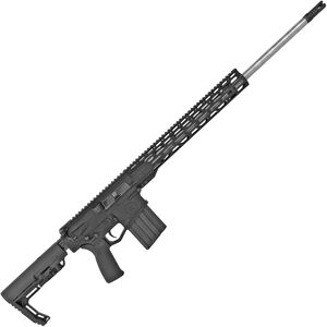 "Radical Firearms .308 Win AR-308 Semi Auto Rifle 24"" Barrel 20 Rounds 15"" Free Float M-LOK TMS Handguard MFT Minimalist Collapsible Stock Black"