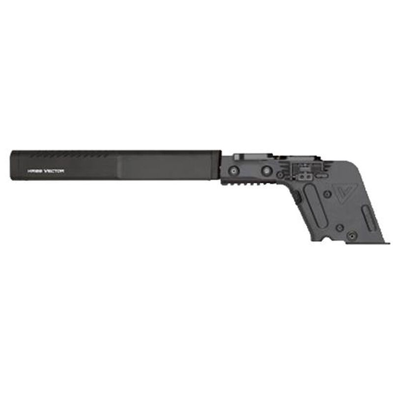 "KRISS Vector GEN II CRB Complete Lower Receiver 9mm Luger 16"" Barrel with Enhanced Shroud Semi Auto Action GLOCK 17 Magazine Compatible Matte Black Finish"