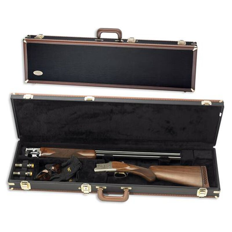 "Browning Traditional Universal Over/Under Trap Shotgun Hard Case 34"" Black 1428119408"