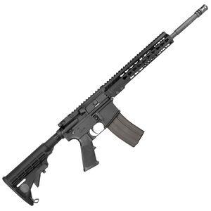 "Armalite M-15 Light Tactical Carbine AR-15 Semi Auto Rifle .223 Rem/5.56 NATO 16"" Barrel 30 Rounds Aluminum Key-Mod Handguard Collapsible Stock Black Finish M15LTC16"