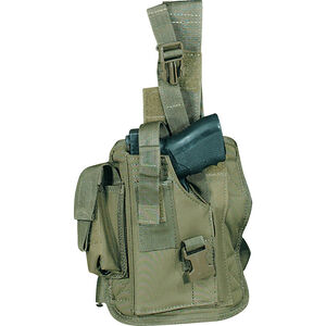 Voodoo Tactical Drop Leg Holster Left Handed OD Green