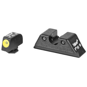 Trijicon HD Night Sight Set Fits GLOCK 17/19/26/22/23/27 Tritium Yellow