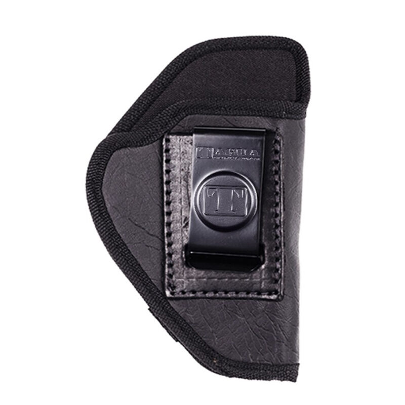 Tagua Gunleather The Weightless IWB Holster For Most Double Stacked Semi Auto Pistols Right Hand Draw Leather Black