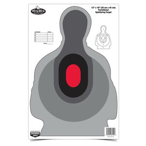 Birchwood Casey Dirty Bird 12x18 Inch Transitional Target Reactive Paper Indoor/Outdoor 100 Pack