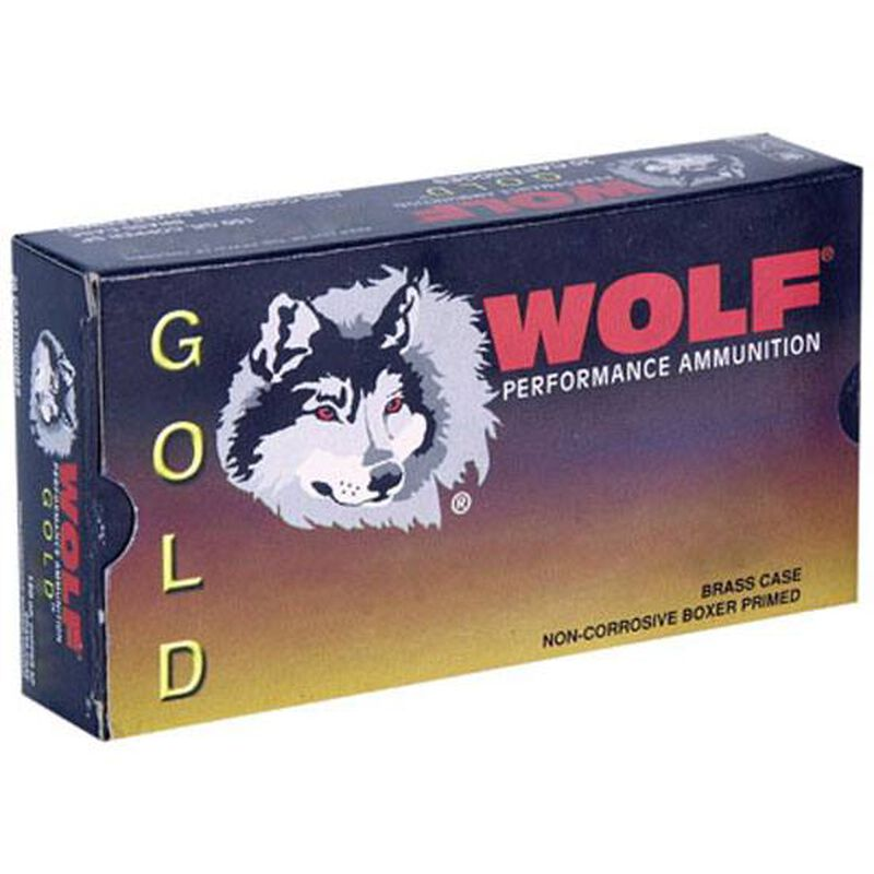Wolf Gold 6.5 Grendel Ammunition 20 Rounds 123 Grain Soft Point 2600fps