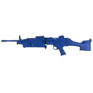 Rings Blue Training Guns FN M249 Weighted Polymer Blue