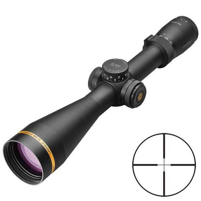 Leupold VX-5HD 3-15x56 Riflescope Illuminated FireDot Duplex Reticle 30mm Tube .25 MOA Adjustments Second Focal Plane Aluminum Matte Black