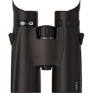 Steiner HX842 Binoculars 8x42mm High Precision Roof Prism Makrolon Housing NBR Rubber Armor Black