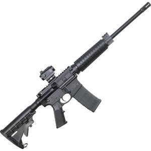"S&W M&P15 Sport II AR-15 5.56 NATO Semi Auto Rifle 16"" Barrel 30 Rounds With Crimson Trace CTS-103 Red Dot Sight Black 12936"