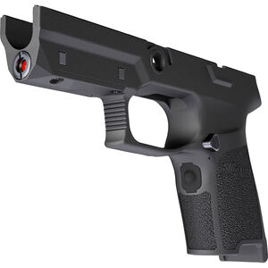SIG Sauer LIMA5 P320/P250 Compact Red Laser Grip Module 9mm/.40/.357 OEM Frame Medium Grip Polymer Black