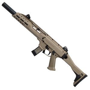 "CZ Scorpion EVO 3 S1 Carbine 9mm Luger 16.2"" Barrel 20 Rounds Faux Suppressor Flat Dark Earth"