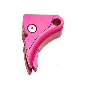 Lone Wolf Ultimate Adjustable Trigger For GLOCK With 9/40 Trigger Bar Aluminum Pink LWD-UAT-A-940-Pink