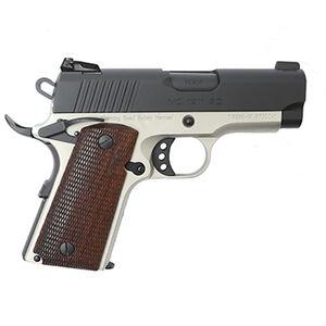 "EAA GiRSAN MC1911SC Officer Model .45 ACP Semi Auto Pistol 3.4"" Barrel 6 Rounds Adjustable Rear Sight Ambidextrous Safety Two Tone Finish"