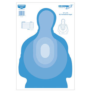 Birchwood Casey Eze-Scorer 12 X 18 BC Transitional Blue 100 Pack
