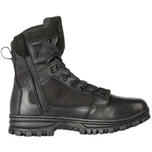 "5.11 Tactical EVO Men's 6"" Side Zip Boot Size 10 Regular Black"