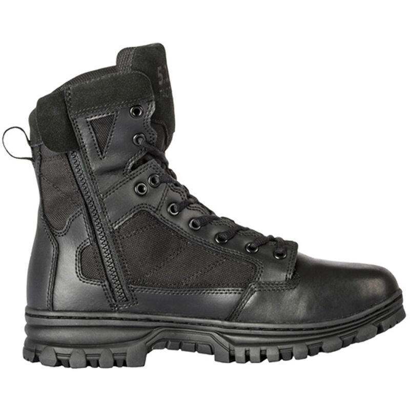 """5.11 Tactical EVO Men's 6"""" Side Zip Boot Size 10.5 Wide Black"""