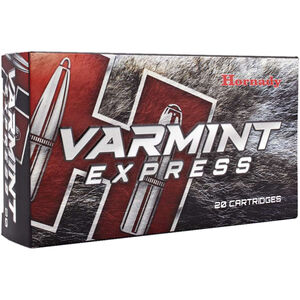 Hornady .224 Valkyrie Ammunition 20 Rounds V-Max 60 Grains